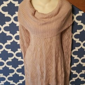 Womens plus 2x cowl neck shimmer sweater apt 9